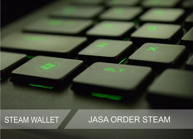 Jasa Order Game Steam dengan Kartu Kredit