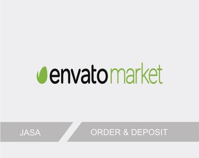 Jasa Envato Market Solusi Bagi Yang Mau Order dan Deposit Akun